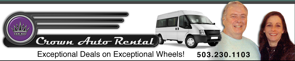 Car Rental in Portland, Oregon, Car Rental Near PDX, Auto Rental by Independent Car Rental Agency